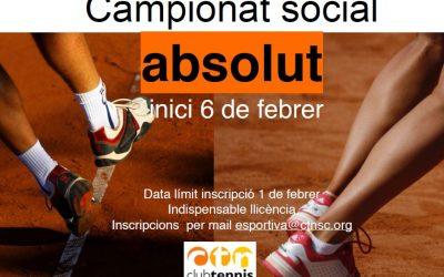Campionat Social Absolut de Tenis