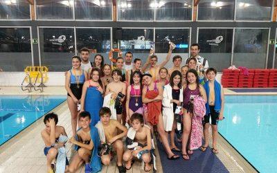 Exel·lents resutats al Campionat Local de Natació Escolar