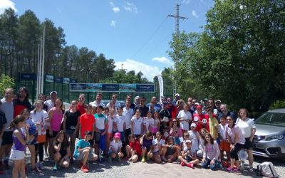 Gran matí familiar de tenis al CTNSC