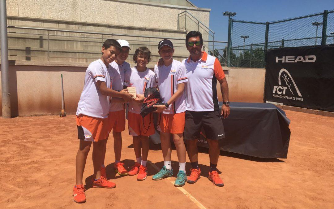 Cloenda Lliga Catalana de Tenis