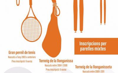 Quadres Social Pernil i Llonganissa de tenis