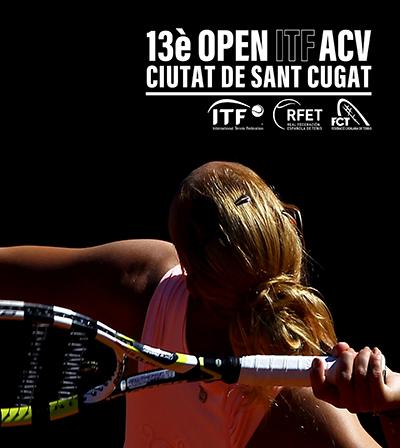 Presentat el 13è Open ITF ACV Ciutat de Sant Cugat