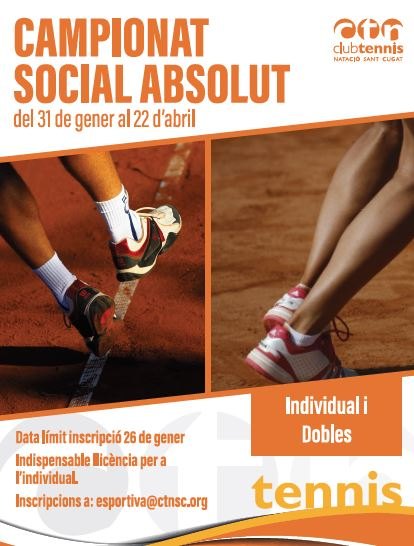 Social absolut de tenis