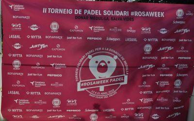 II edició del torneig de pàdel rosaweek-1r trofeu Bocca