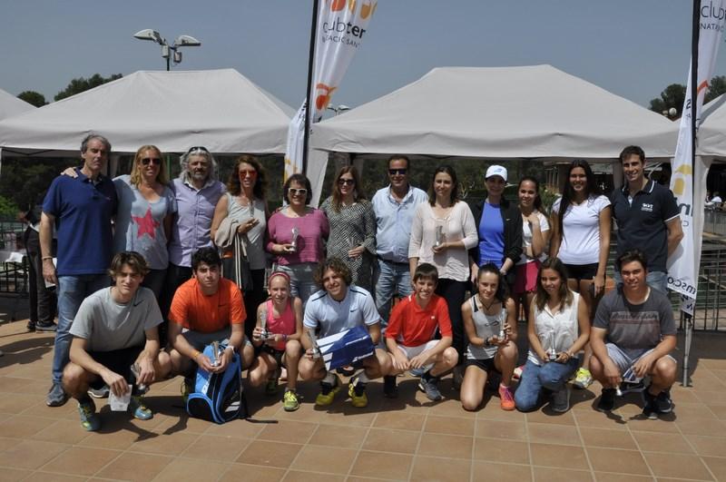 Entrega de premis Social Absolut de Tenis 2018