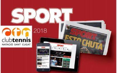 SPORT, diari esportiu oficial del 14è Open ITF ACV Ciutat de Sant Cugat
