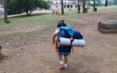Que bé que ens ho hem passat a l'acampada!