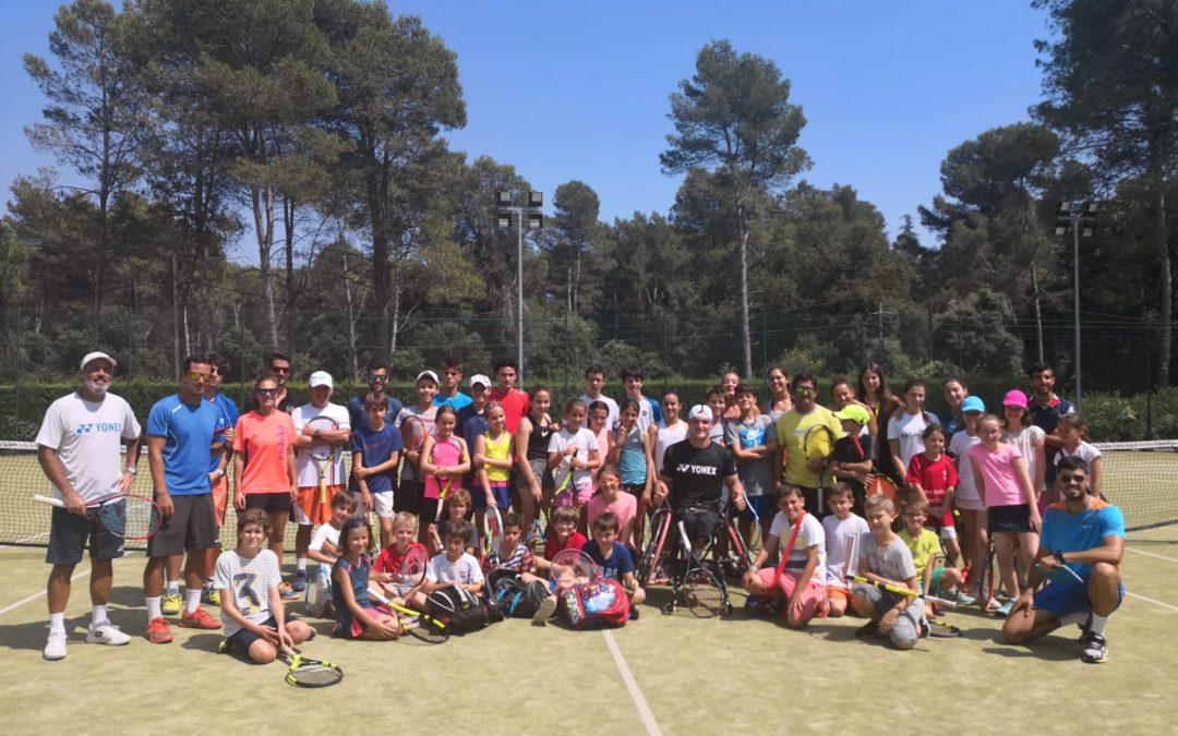 Seguim amb les visites de cracks de tenis!