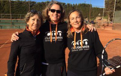 L'equip +55 femení, subcampió de Catalunya