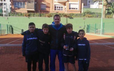 Els benjamins, subcampions de Catalunya