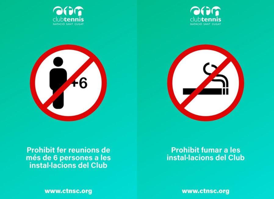 Noves mesures de prevenció